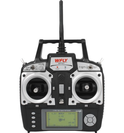 Radio Wfly WFT07    2.4 Ghz  7 canales